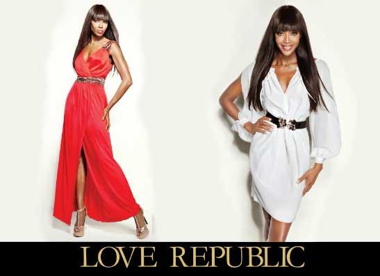 Фото №1 - Наоми Кэмпбелл стала лицом бренда «LOVE REPUBLIC»