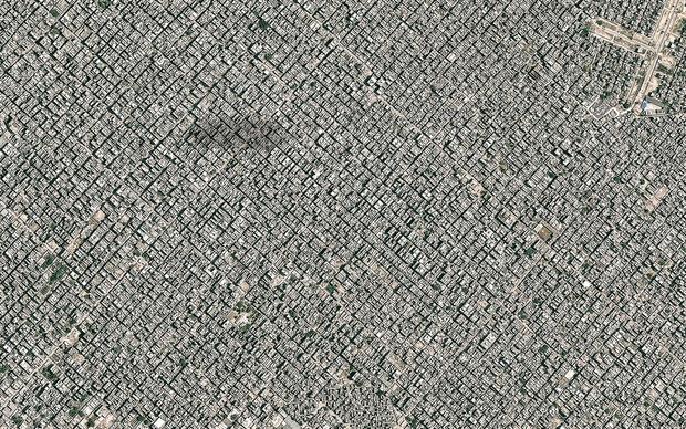 Фото №1 - Индия с воздуха выглядит даже страшнее России