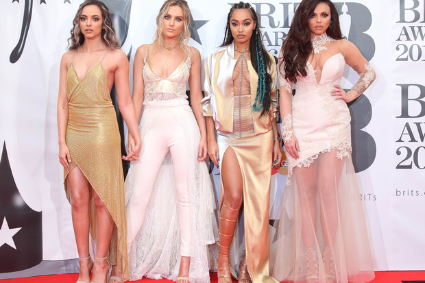 Little Mix на Brit Awards 2016