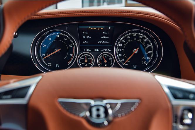 Фото №11 - Cамый быстрый четырехдверный Bentley в истории — Flying Spur W12 S