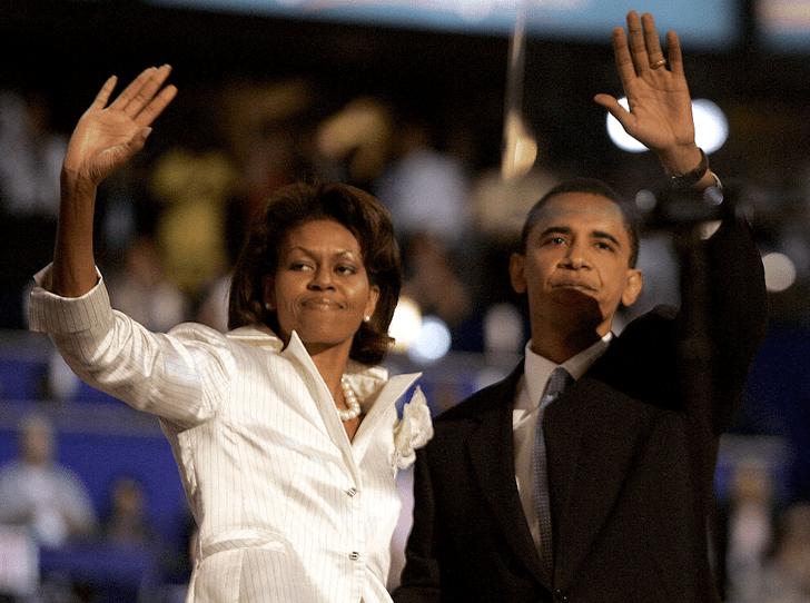 Фото №1 - Как большая политика лишила Мишель Обаму Рождества