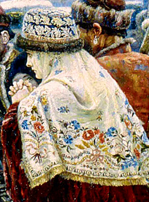 Фото №11 - 16 символов, зашифрованных в картине «Боярыня Морозова»