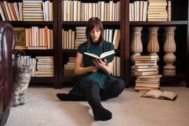 Фото №1 - Книги, которые помогут тебе забыть об интернете