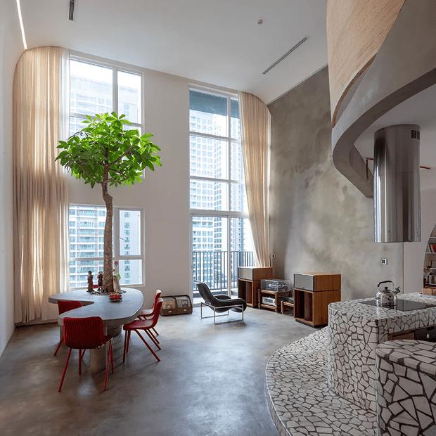Фото №2 - Квартира для любителя модернизма во Вьетнаме