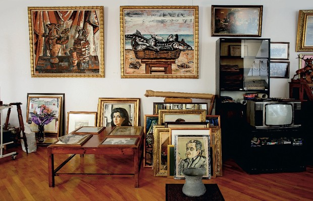 Фото №6 - Дом и мастерская Таира Салахова в Баку