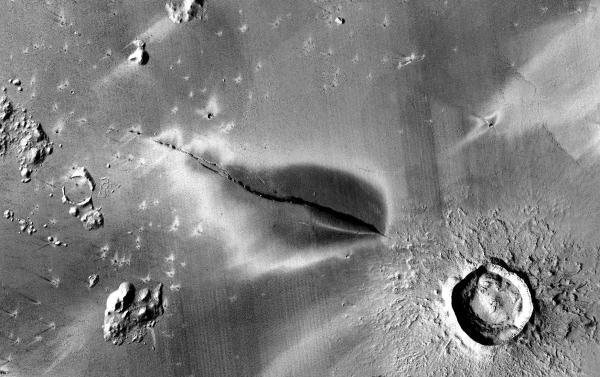 Фото №1 - Ученые рассказали, когда произошло последнее извержение вулкана на Марсе