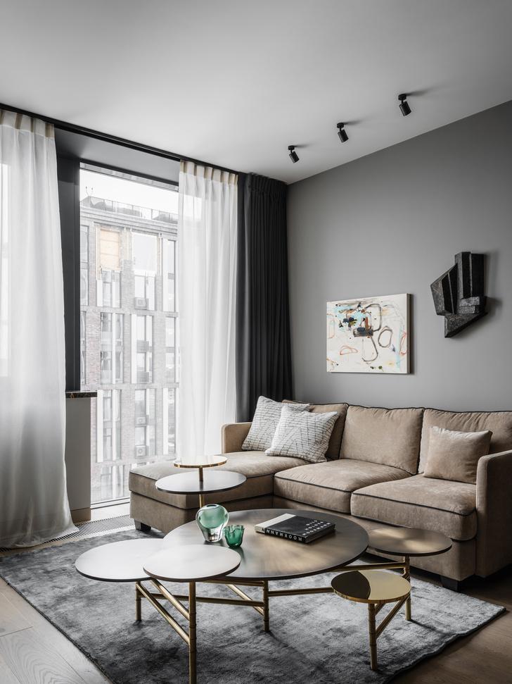 <p>Квартира в Москве. Проект дизайнера Ольги Зубовой.</p>