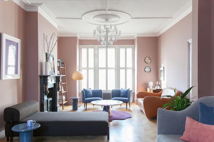 Фото №1 - Яркий дом в историческом районе Лондона