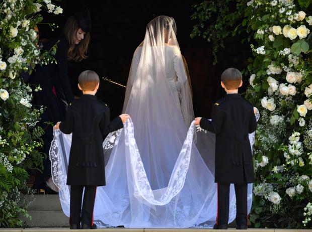 Фото №49 - Свадьба Меган Маркл и принца Гарри: как это было (видео, фото, комментарии)