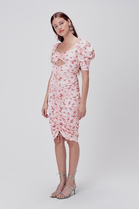 Фото №6 - 15 цветочных розовых платьев как у Селены Гомес в новом видео De Una Vez