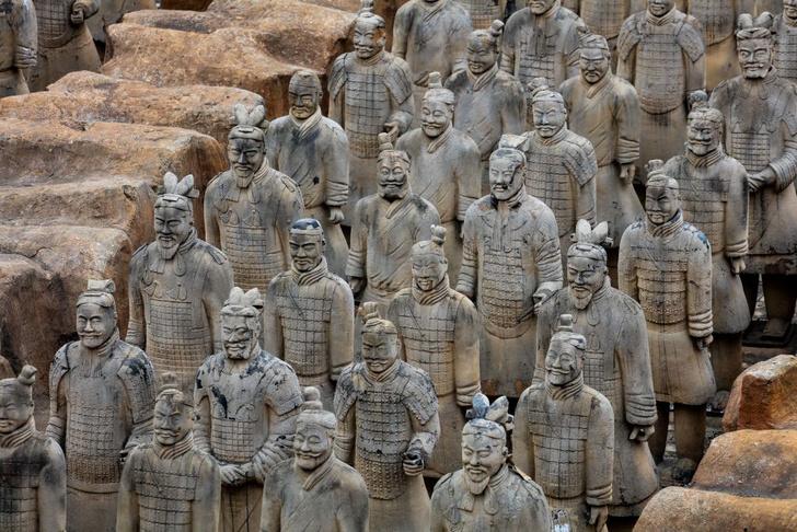 Фото №1 - Раскрыты некоторые секреты китайской Терракотовой армии