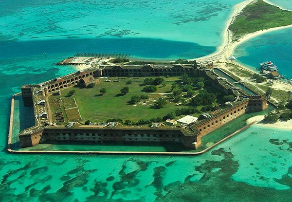 Фото №1 - История одного места: форт Джефферсон, США
