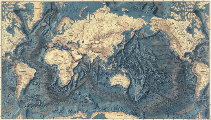 Фото №2 - Карта морского дна Марии Тарп