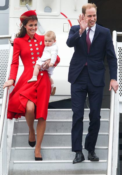 Фото №9 - Принц Джордж Кембриджский: три года в фотографиях