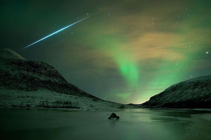 Фото №1 - Сегодня ночью жители России увидят звездопад метеорного потока Геминиды