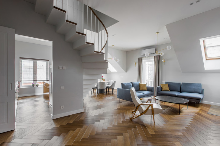 Фото №1 - Двухуровневая квартира в Вильнюсе