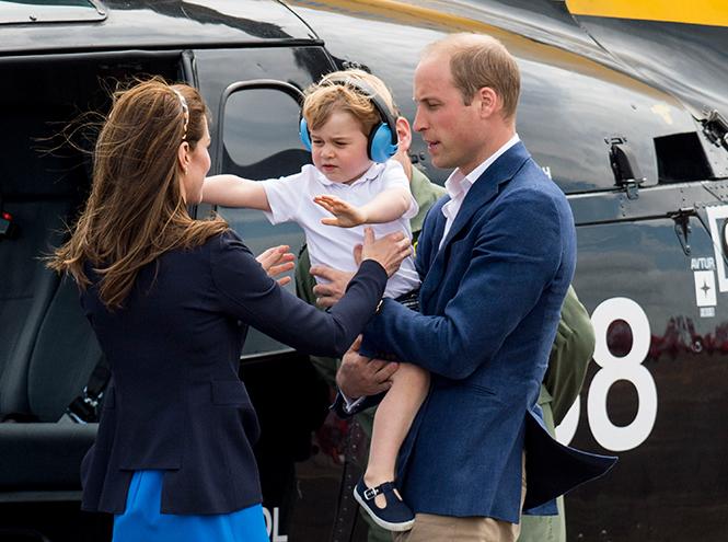 Фото №49 - Принц Джордж Кембриджский: три года в фотографиях