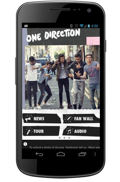 One Direction приложение
