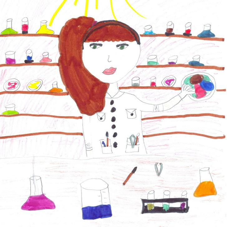 Фото №1 - Как дети представляют себе ученых