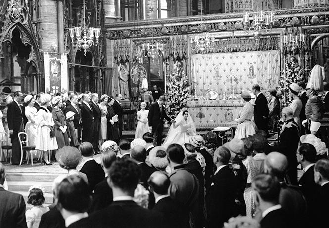 Фото №22 - Королевская свадьба #2: как выходила замуж «запасная» принцесса Маргарет