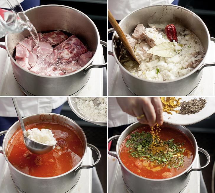 Фото №3 - На маминых харчах: рецепт знаменитого грузинского супа