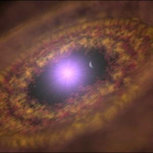 Фото №1 - Обнаружена новорожденная планета