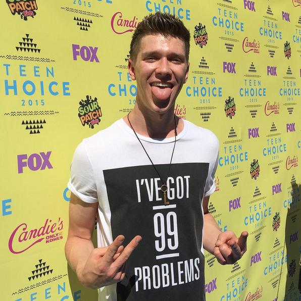 Фото №20 - Звездный Instagram: Teen Choice Awards 2015