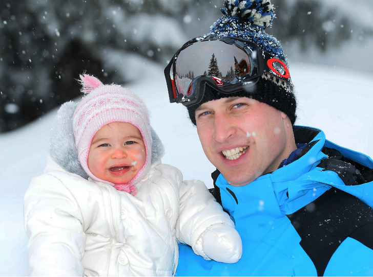 Фото №1 - «Моя любимая принцесса»: принц Уильям и его трогательные отношения с Шарлоттой