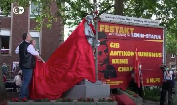 Фото №1 - В июне 2020 года в Германии открыли памятник Ленину