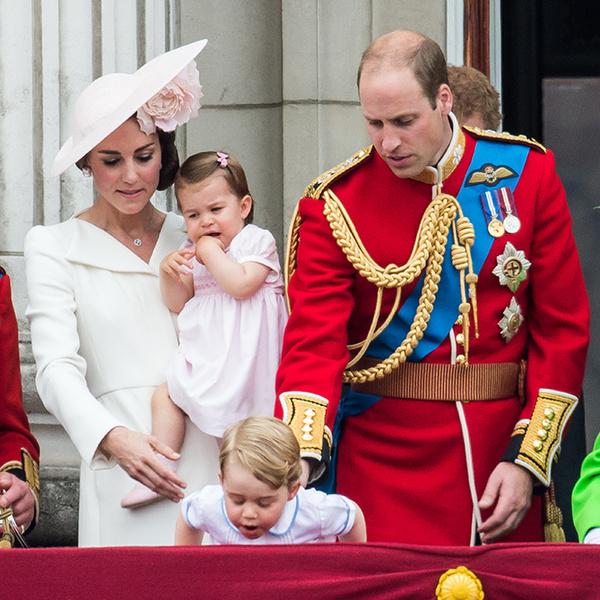 Фото №2 - Принцесса Шарлотта Кембриджская: второй год в фотографиях