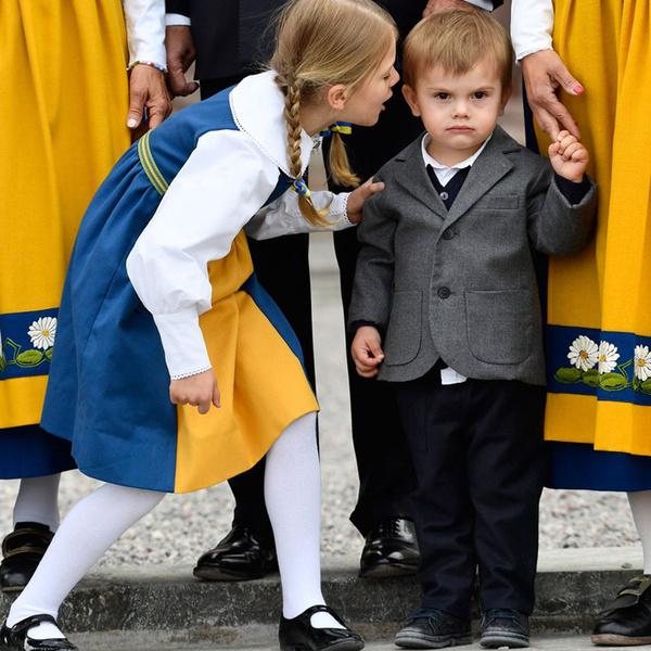 Фото №6 - Принцесса Эстель снова затмила шведского короля
