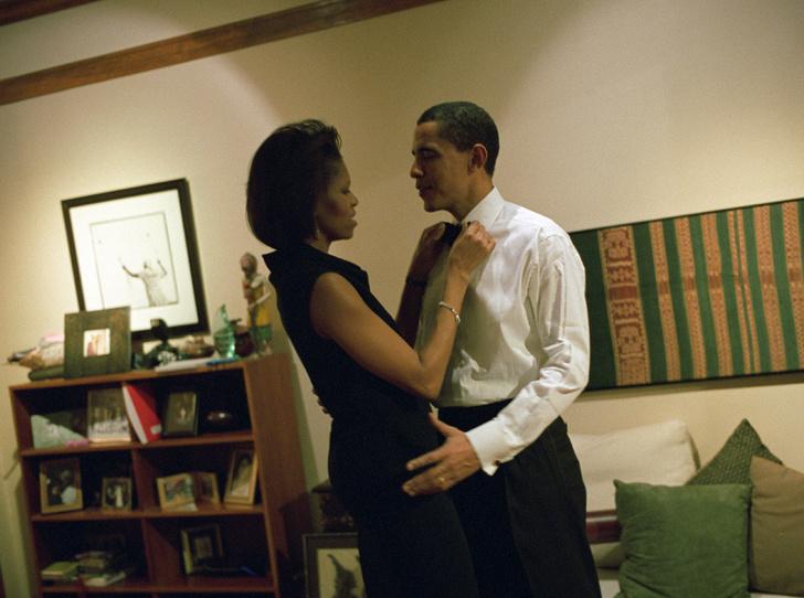 Фото №12 - Мишель Обама и ее триумф: как проходило «становление» Первой леди