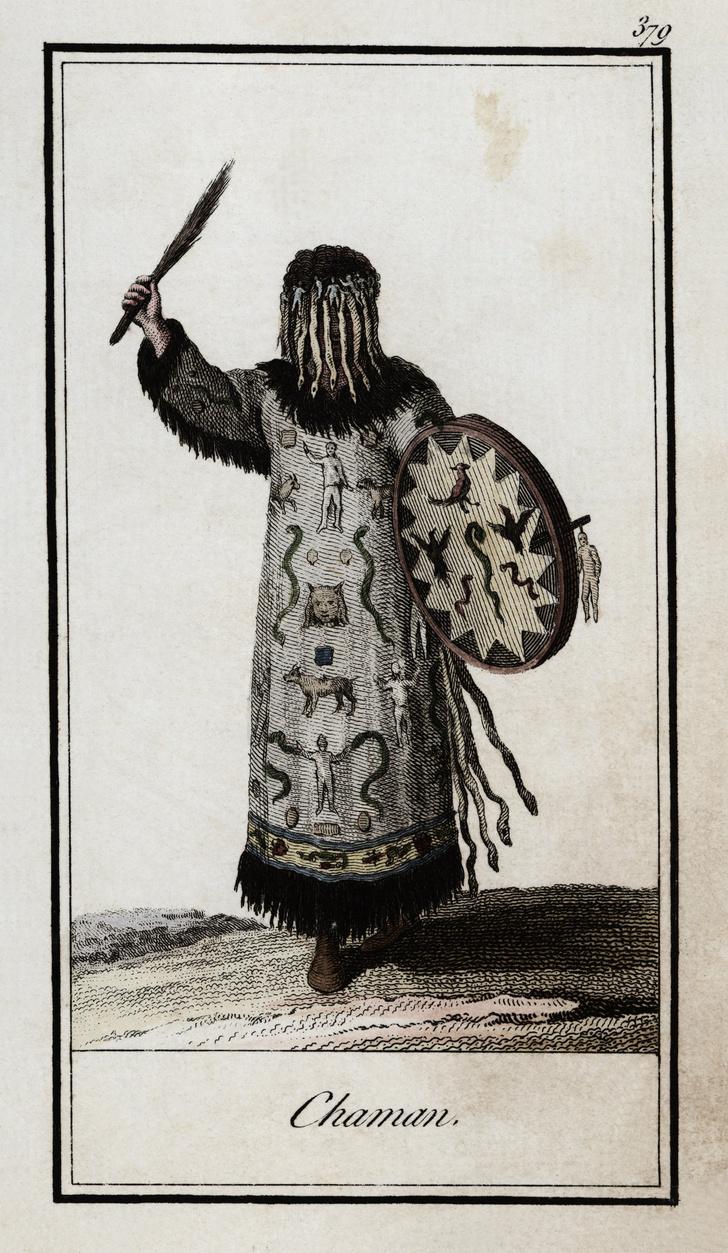 Фото №6 - Круговой обзор: секреты одеяния и атрибутов сибирских шаманов