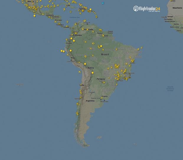 Фото №15 - Как изменился авиатрафик в разных регионах мира во время пандемии