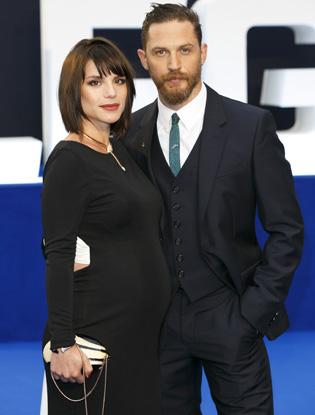 Фото №2 - Том Харди и Шарлотта Райли стали родителями