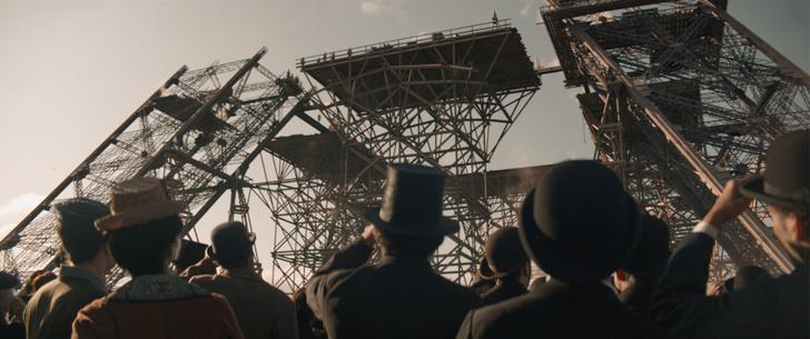 Фото №3 - Башня в виде буквы «А»: 5 удивительных фактов о символе Парижа из нового фильма «Эйфель»