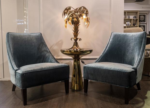 Фото №4 - Обновленная коллекция мебели Eichholtz