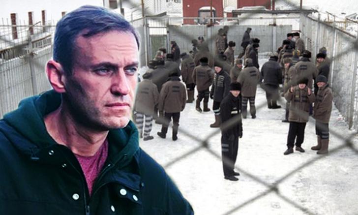 Фото №1 - Навальный назвал два своих любимых момента дня в колонии