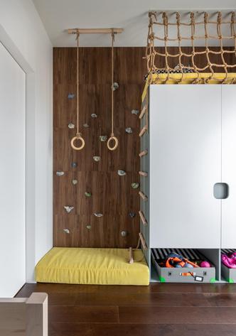 Фото №11 - Яркая квартира 107 м² для пары с двумя детьми в Минске