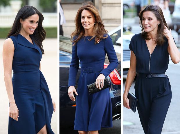 Фото №1 - Королевская палитра: как монаршие особы носят синий цвет