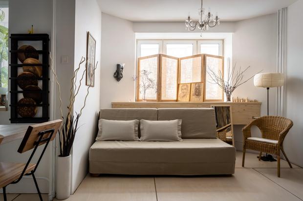 Фото №2 - Маленькая квартира в экостиле