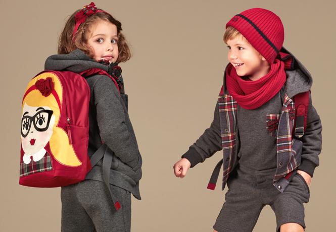 Фото №17 - Модные школьники: детская коллекция Dolce&Gabbana осень-зима 16/17