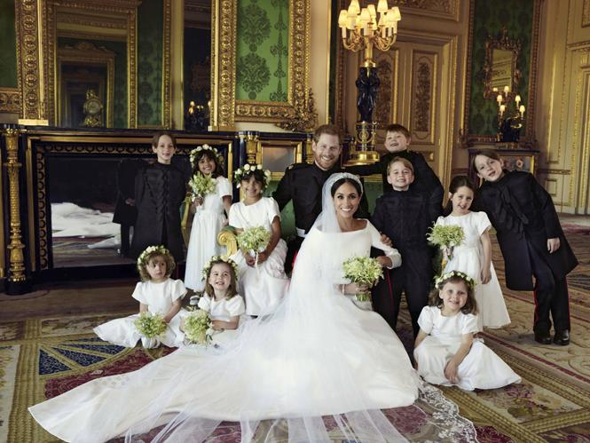 Фото №7 - О чем говорят свадебные фото Гарри и Меган