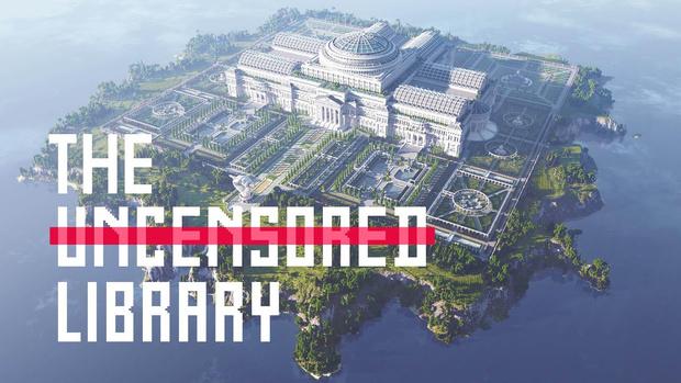 Фото №1 - «Репортеры без границ» создали в Minecraft библиотеку подвергнутых цензуре журналистских текстов