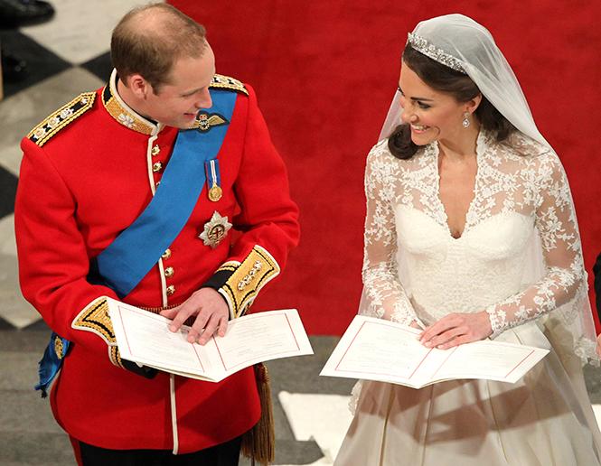 Фото №7 - Факты о свадьбе Кейт Миддлтон и принца Уильяма, о которых вы могли не знать
