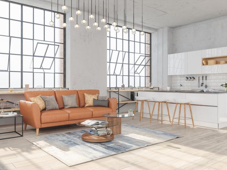 Фото №4 - Как оформить квартиру в стиле лофт: советы дизайнера