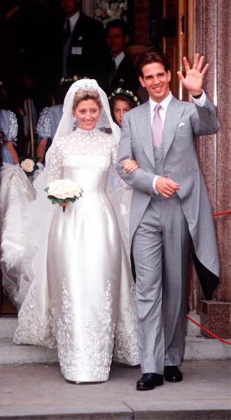 Фото №3 - Кронпринцесса Греции Мари-Шанталь рассказала о свадебном этикете