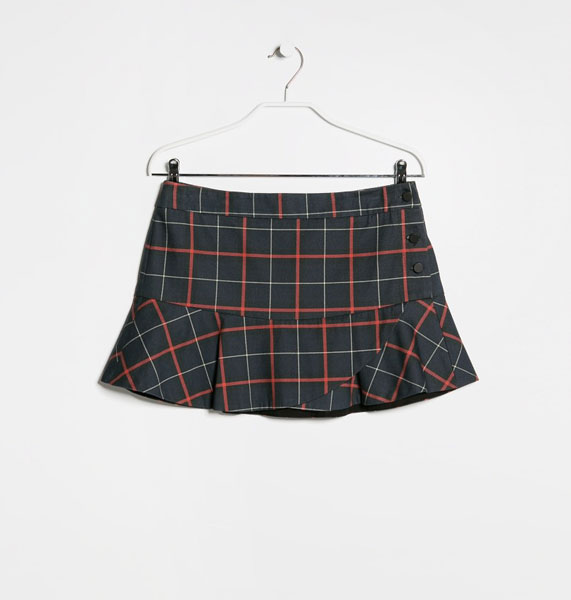 Модная мини-юбка