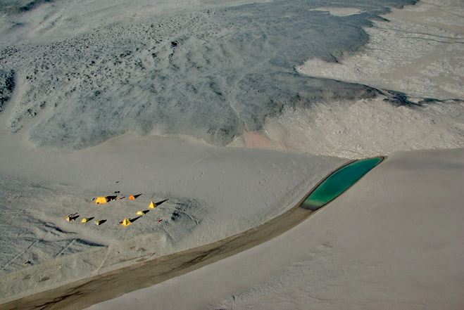 Фото №1 - Песчаные дюны Антарктиды: cамое сухое место на Земле