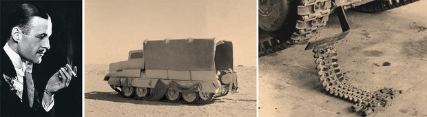 Фокусник Джаспер Маскелин, Операция «Бертрам», британский танк Matilda 2